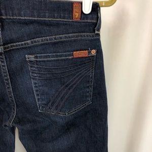 7 Fam Dojo Jeans, New York Dark Rinse 28x30.5